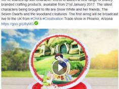 Disney crafting snow white by create and craft tv