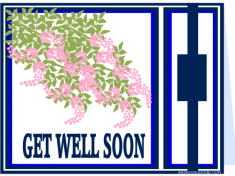 GET WELL SOON card for the month of January 2017 by Anino Ogunjobi