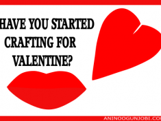 Have you started crafting for your valentine