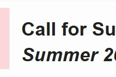 KNIT NOW CALL FOR SUBMISSION summer 2017