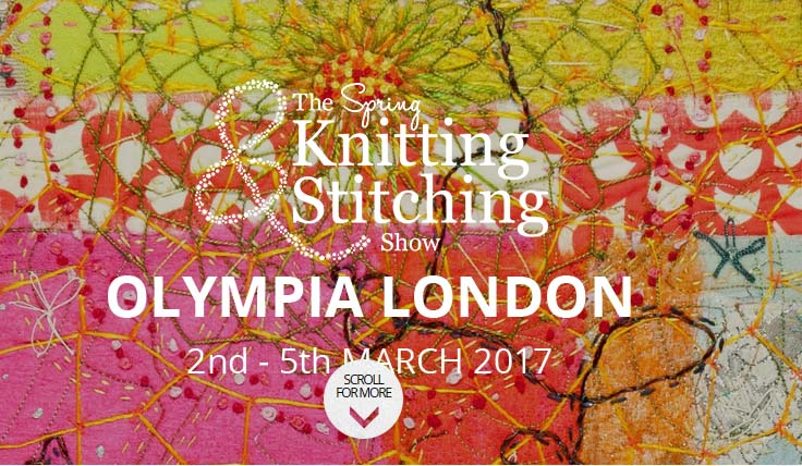 Spring knitting and stitching shoe 2017 olympia London