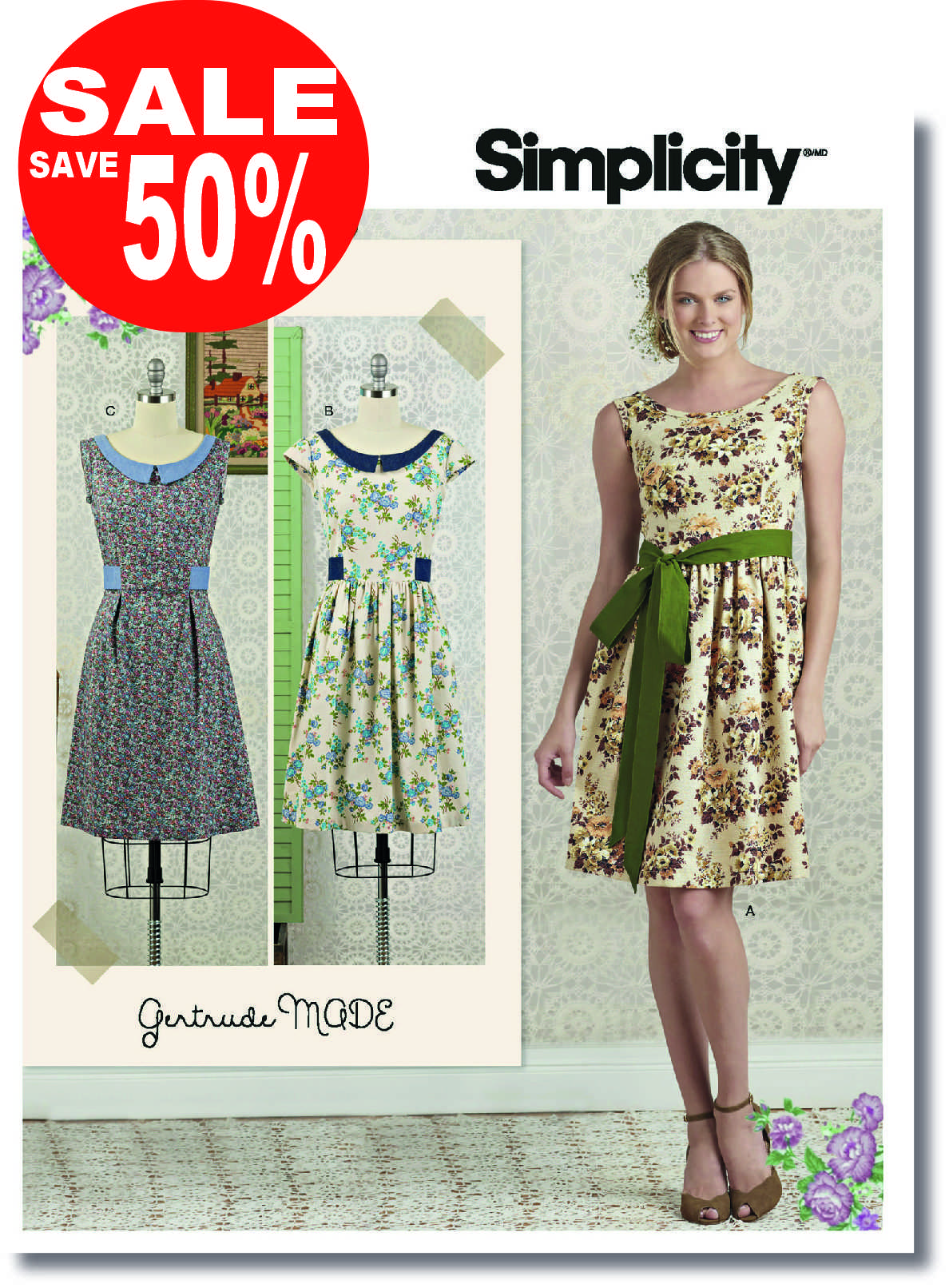 Sale sewing enjoy 50 percent off the simplicity sewing pattern link httpsjaycottscollectionssimplicity jeuxipadfo Choice Image
