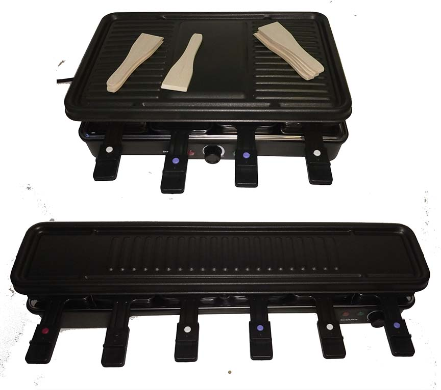 Product Of The Day Raclette Grill Anino