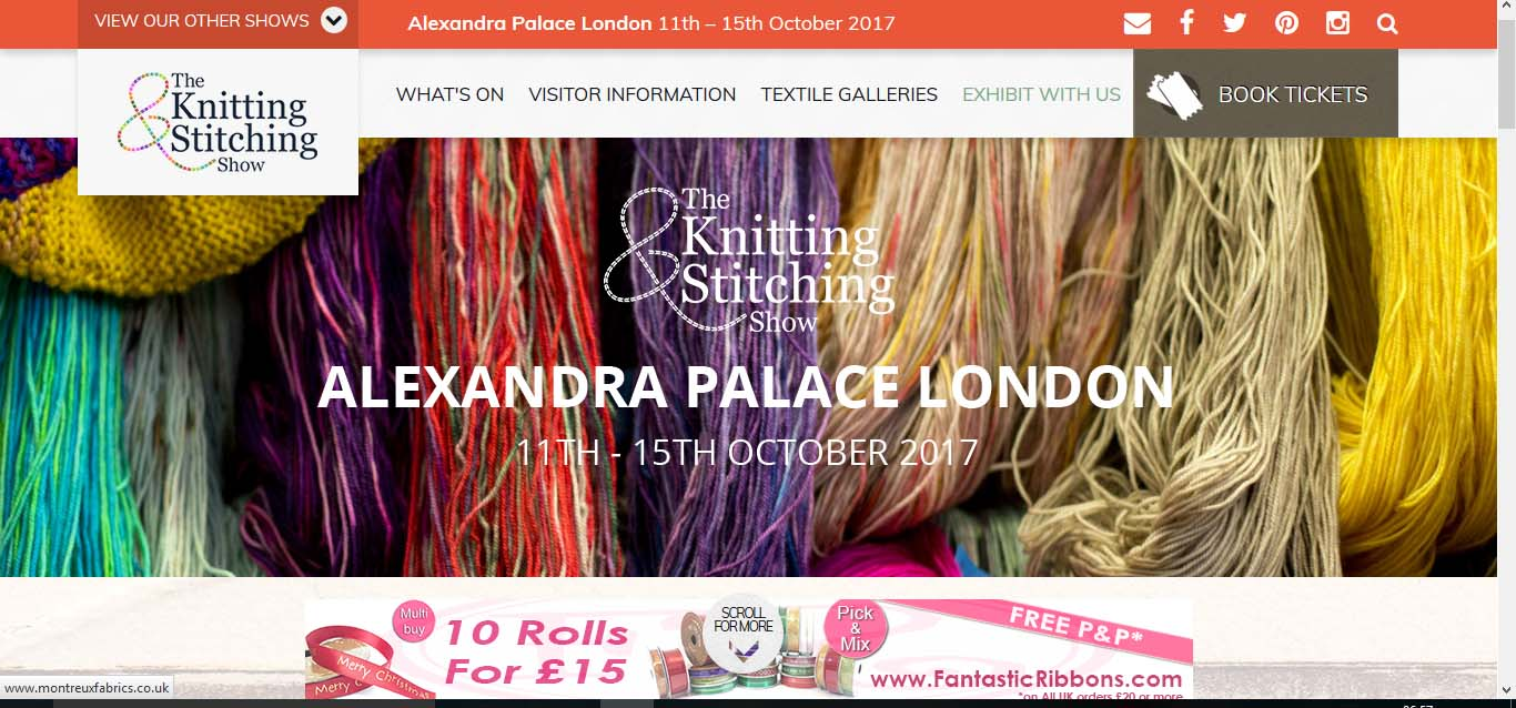 Knit Stitch Show Alexandra Palace 2017 : Event: Plan Your Outing In London As The Knitting And Stitching Show Open At ...