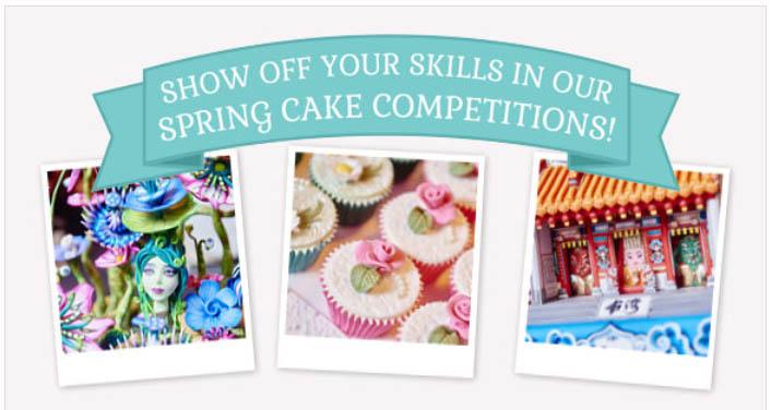 cake international spring 2017 is open for entry