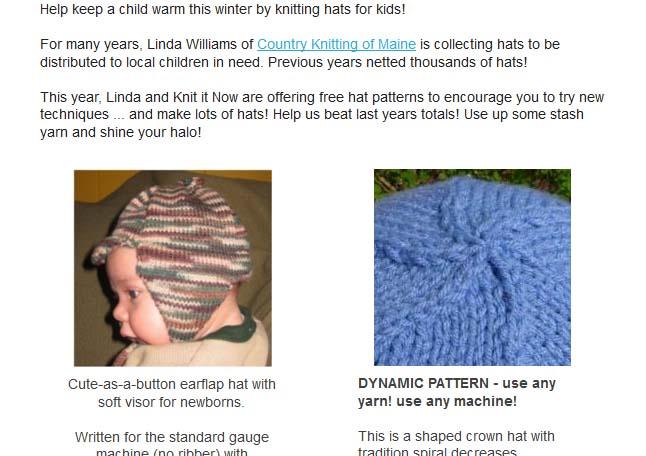 knit it now help keep a child warm