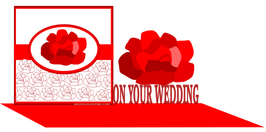 On your wedding greeting card tag for the month of February 2017 by Anino Ogunjobi