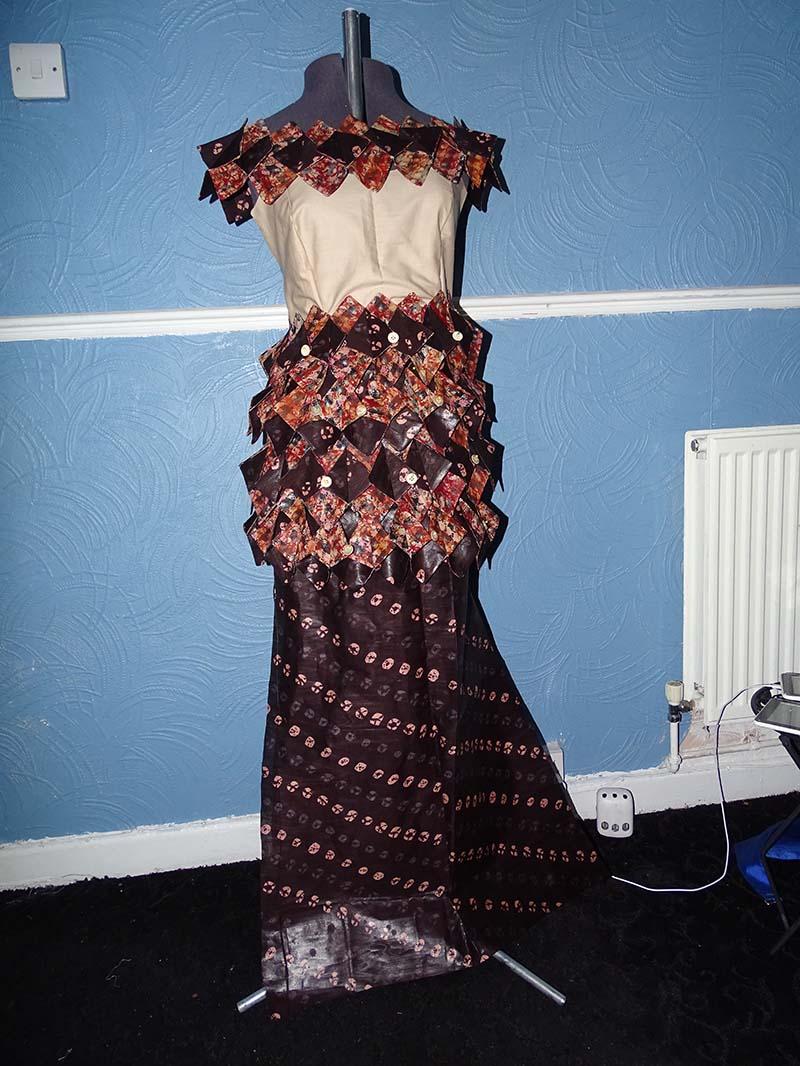 vintage dress entry for dressmaker of the year working Anino Ogunjobi image 5
