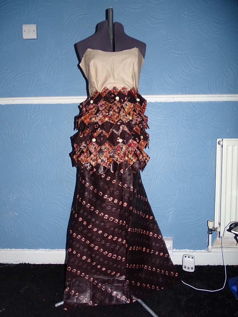vintage dress entry for dressmaker of the year working Anino Ogunjobi image 6