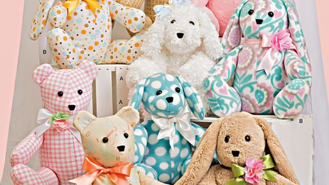 Sewing pattern -Children: Spring out some soft toys using the ...