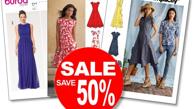 Sale Take a grip on sewing pattern sale while Simplicity Newlook Inspiration Simplicity Patterns On Sale