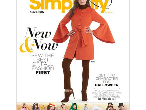 Simplicity Sewing Patterns delight Sewers\ Sewist with their new