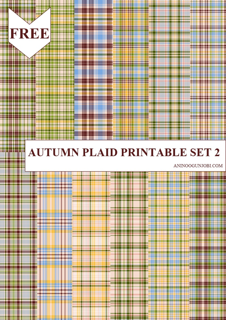 Autumn Plaid Set 2