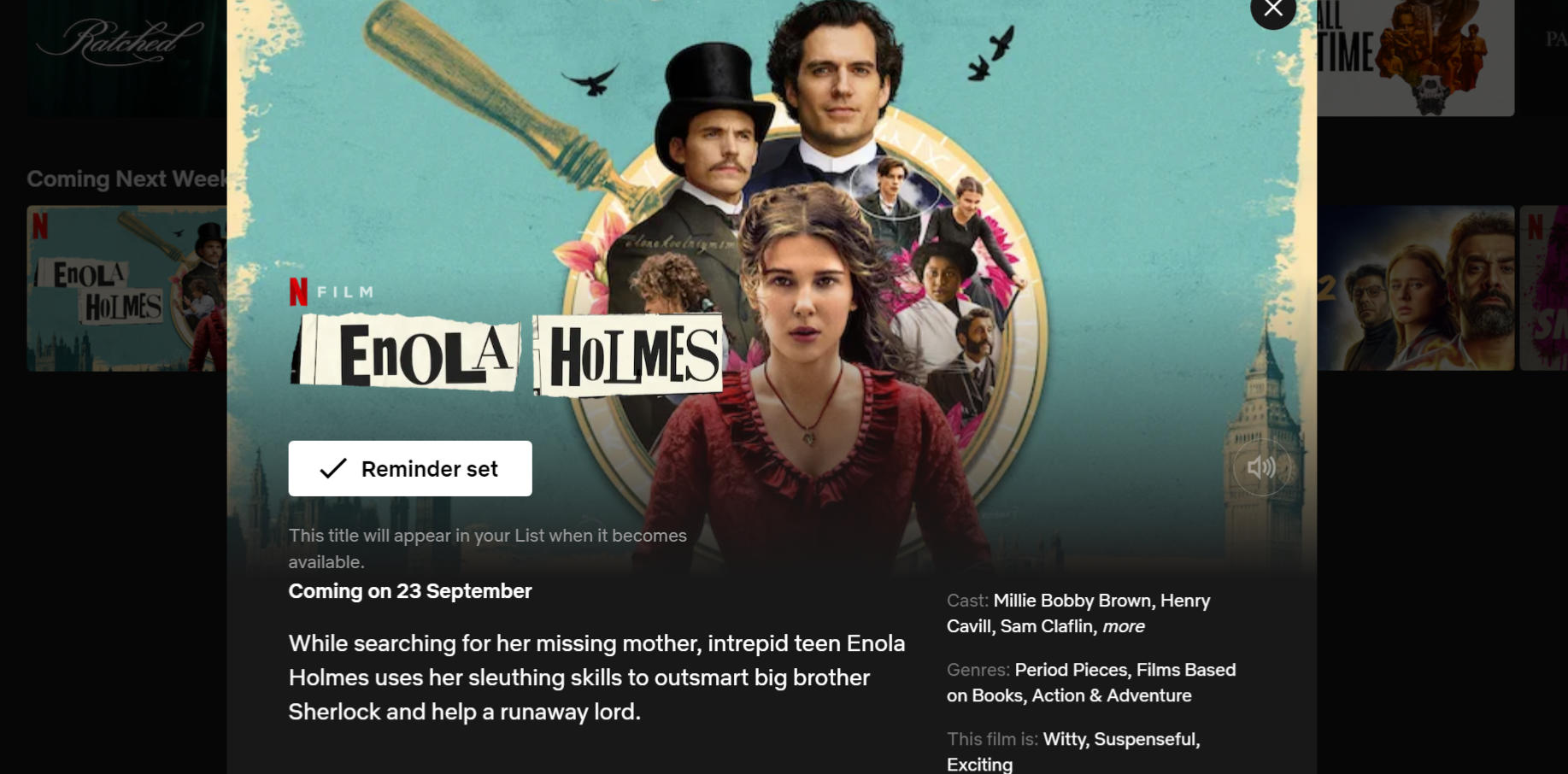 Eniola Homles coming to Netflix September 2020