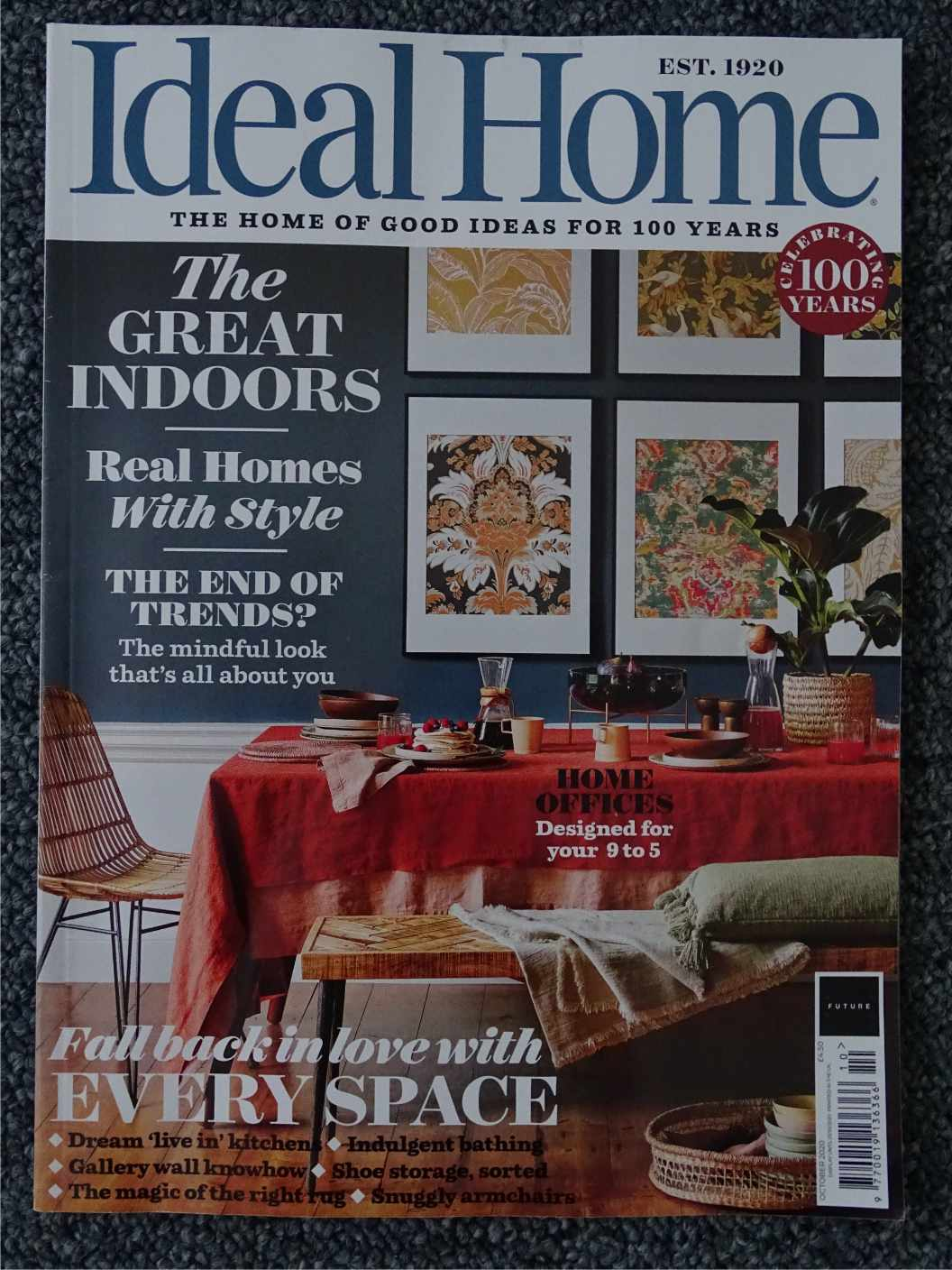 Ideal Home magazine October 2020