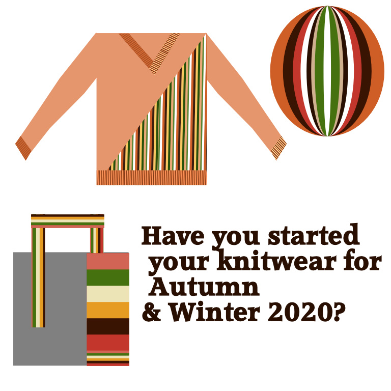 have you started your winter 2020 knitwear