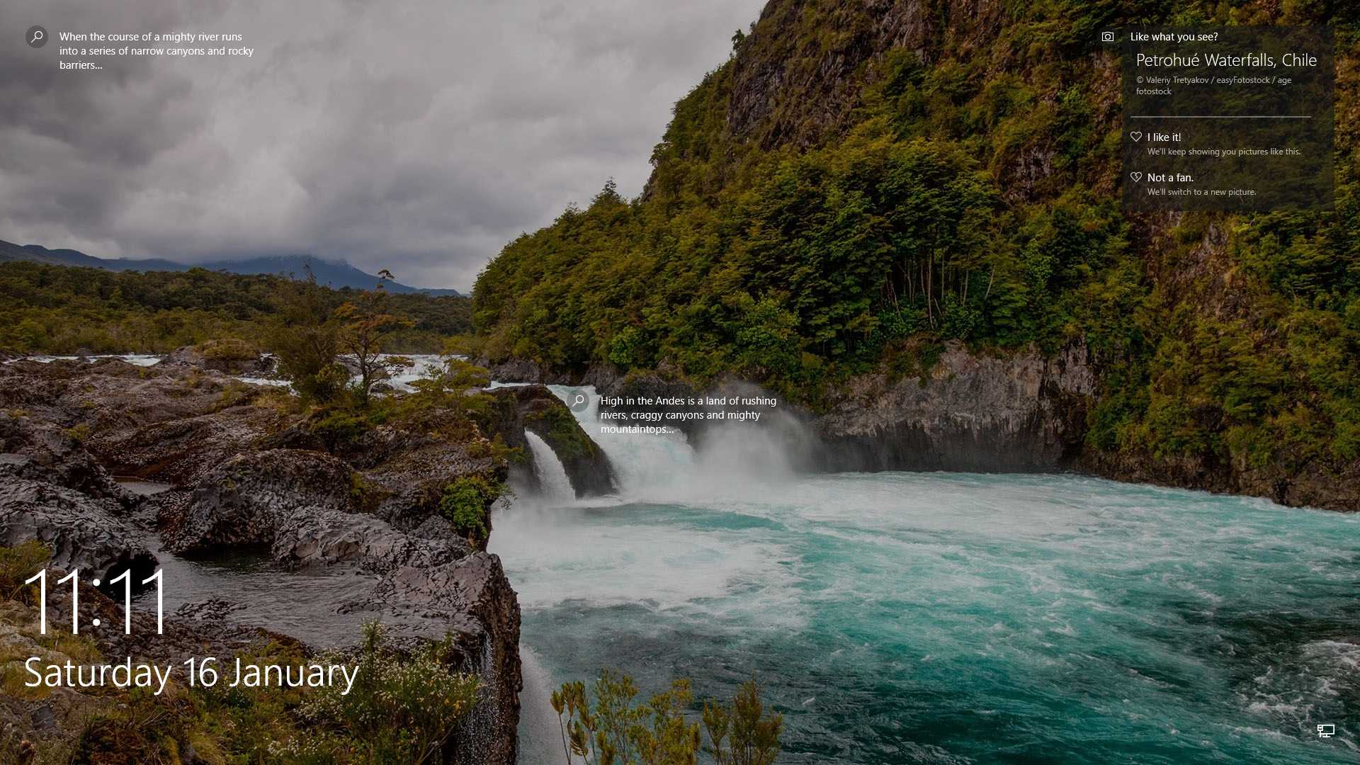 Petrohue-waterfalls-in-vicente-perez-rosales-national-park-Chile