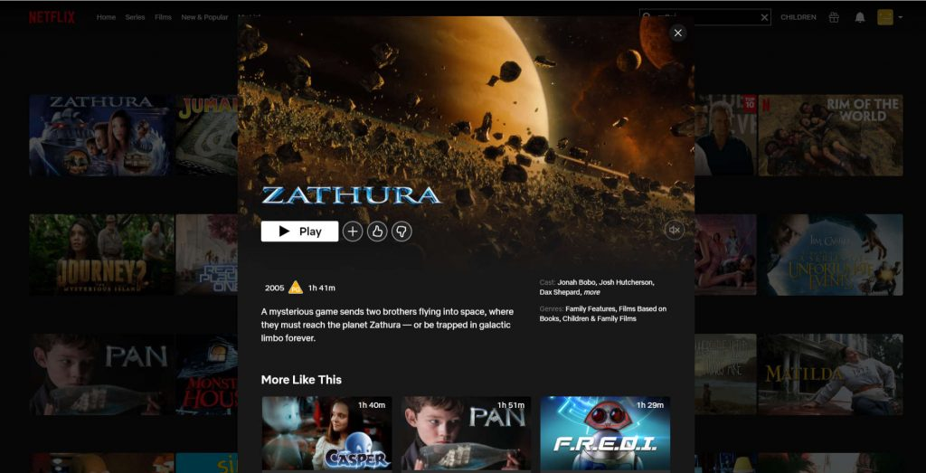 Home Entertainment A Game Comes To Life In The Movie Zathura On Netflix Anino