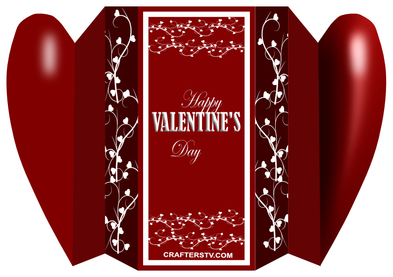 Valentine Greeting Card 8 by Anino Ogunjobi and Crafters TV