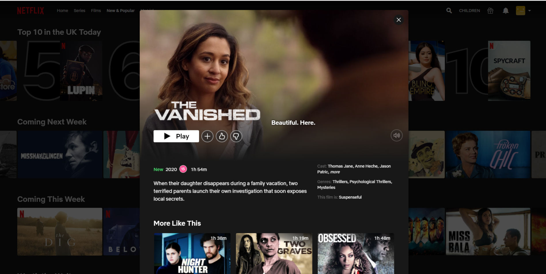 the-vanished-on-Netflix