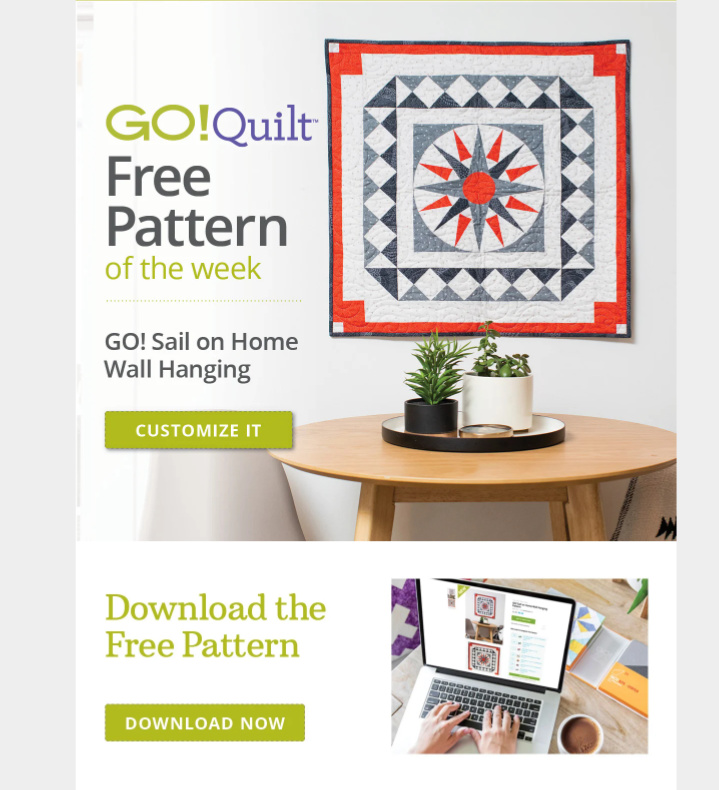 AccuQuilt-GO-Sail-on-Home-Wall-Hanging-Pattern