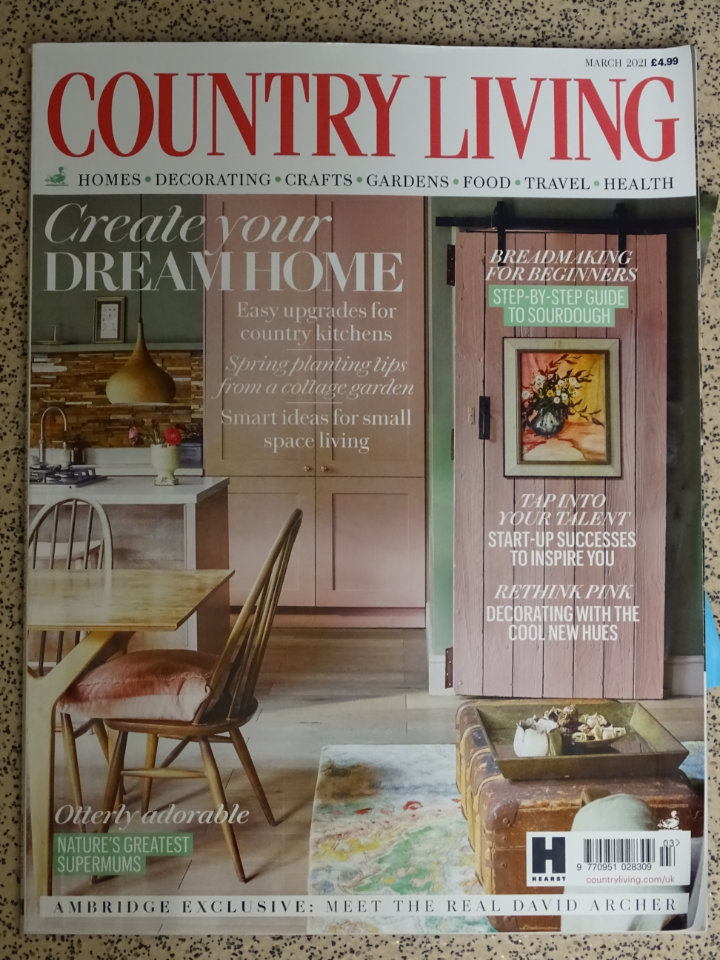Country living magazine March 2021