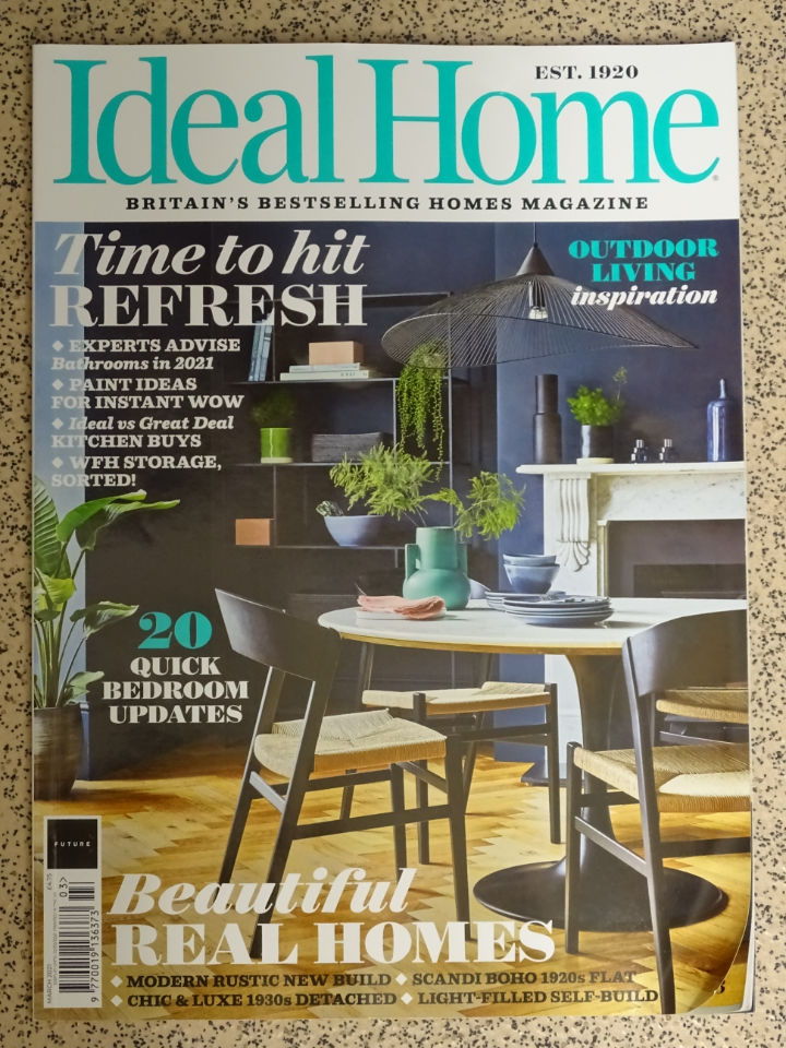 Ideal home magazine march 2021