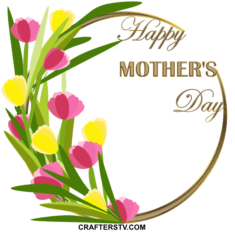 Mother's Day Greeting Card 1 by Anino Ogunjobi and Crafters TV