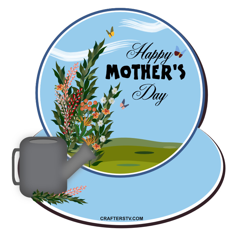 Mother's Day Greeting Card 3 by Anino Ogunjobi and Crafters TV