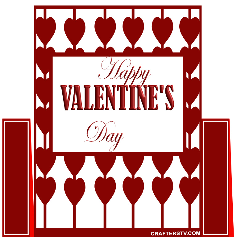 Valentine Greeting Card 11 by Anino Ogunjobi and Crafters TV