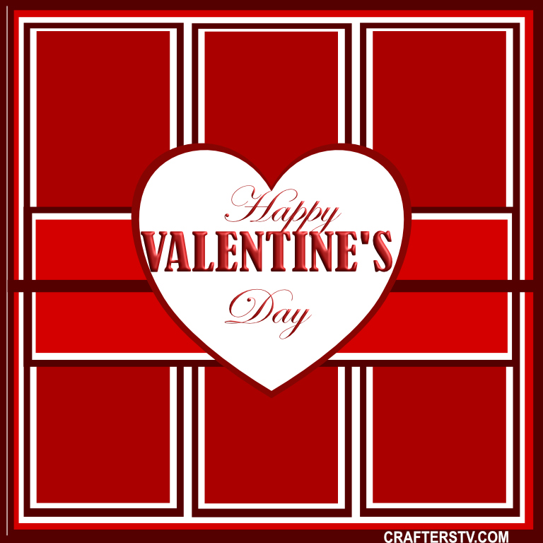 Valentine Greeting Card 15 by Anino Ogunjobi and Crafters TV
