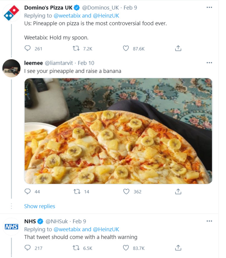 Weetabix-tweet-weetabix-on-baked-beans-breakfast-1-NHS-and-Dominos-pizza-response