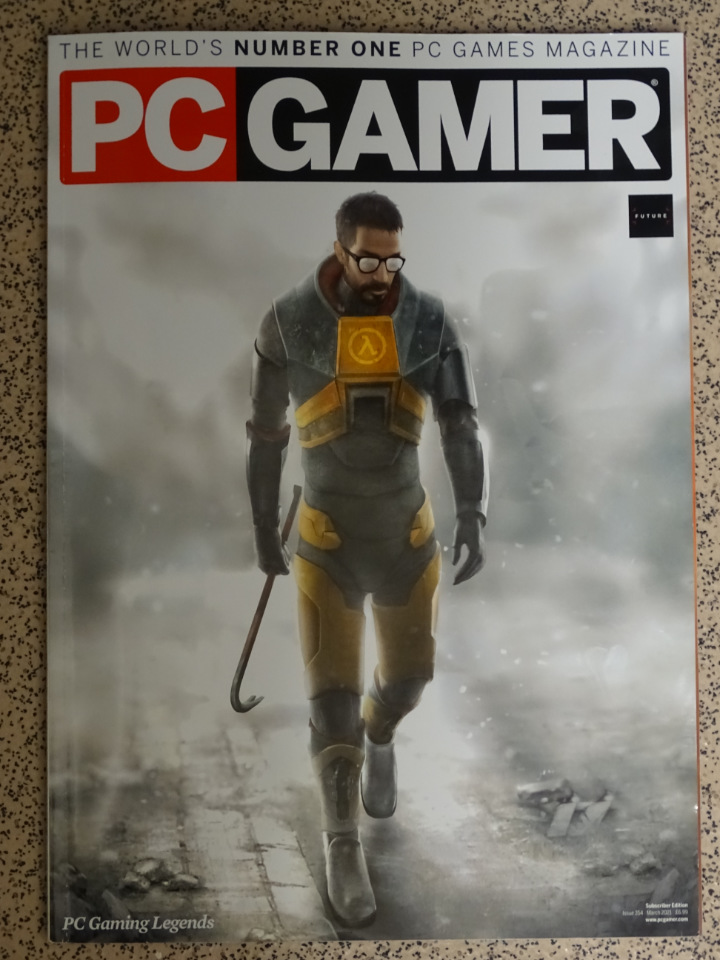 pcGamer magazine issue 354 March 2021