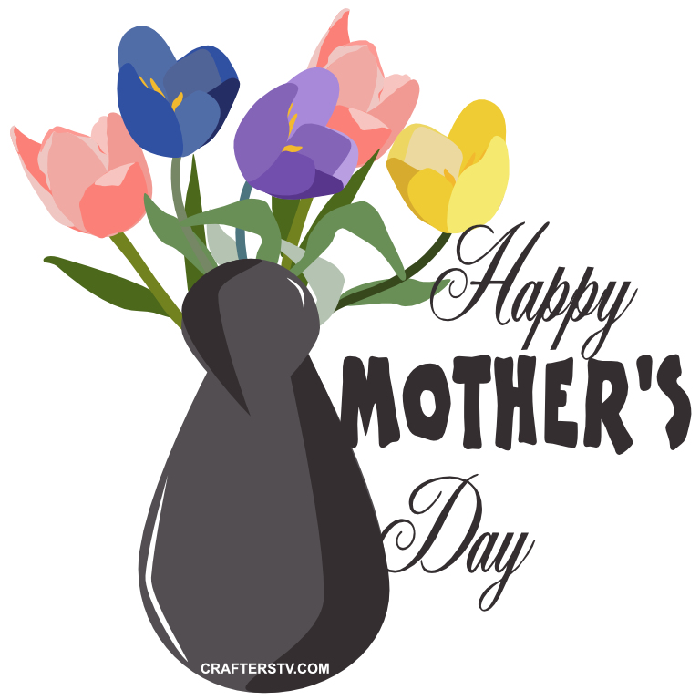 Mother's Day Greeting Card 4 by Anino Ogunjobi and Crafters TV