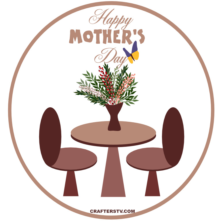 Mother's Day Greeting Card 5 by Anino Ogunjobi and Crafters TV