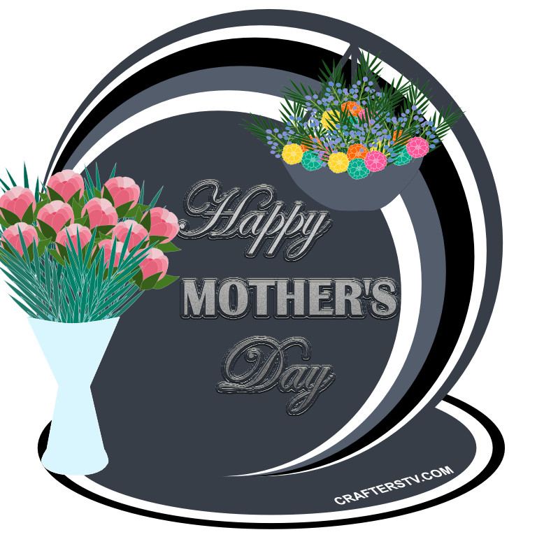 Mothers Day Greeting Card 7 by Anino Ogunjobi and Crafters TV