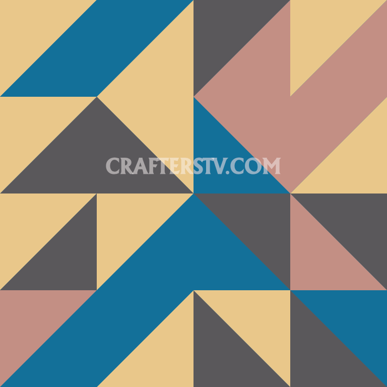 Patchwork block -Day 3 by Crafters TV and Anino Ogunjobi