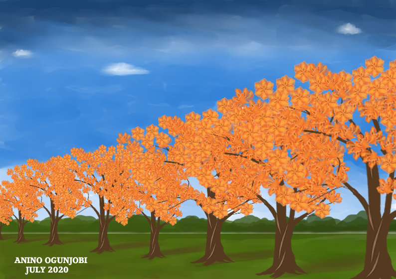Watercoloured-Blossoming-Trees-perspective
