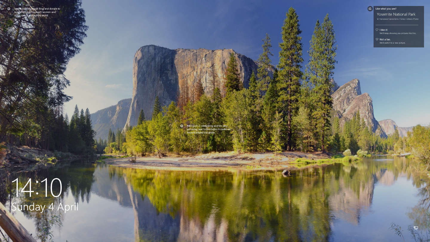 Yosemite-National-Park-El-Capitan-reflected-on-Merced-river