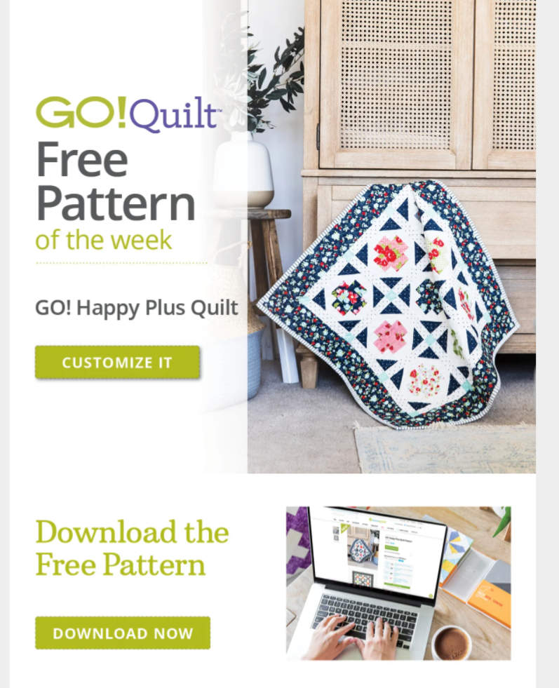 Accuquilt-GO-Happy-Plus-Quilt-Pattern-of-the-week